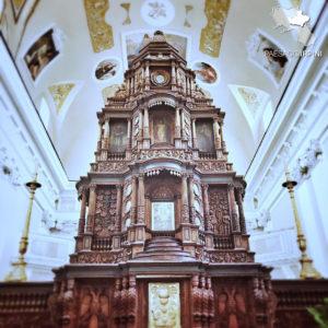 Altare ligneo della Chiesa di San Giovanni del Palco (foto fornita da Tommaso Buonfiglio)