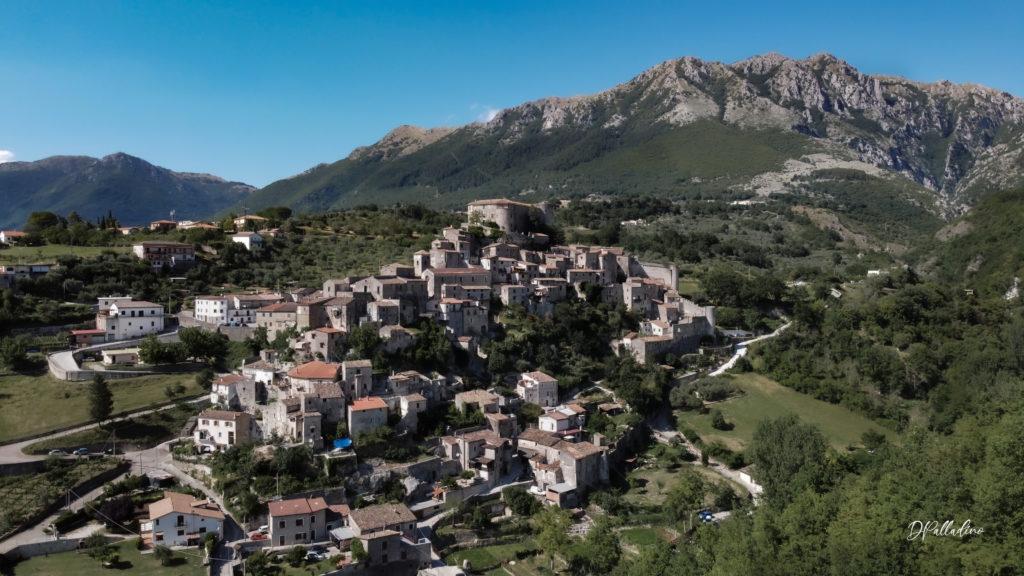 Borgo medievale visto dall'alto - foto di Daniele Palladino