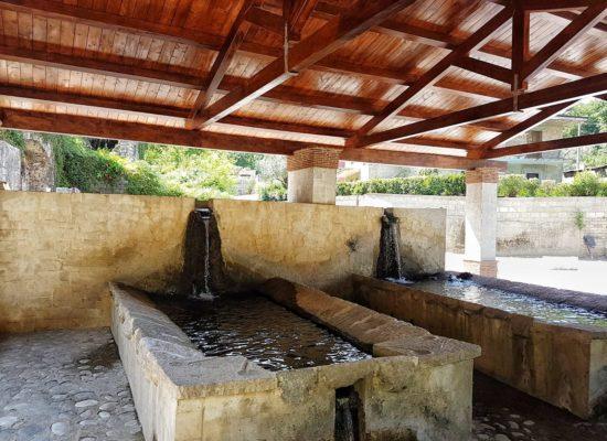 Lavatoi e Abbeveratoi della Fontana Margherita de Tucziaco