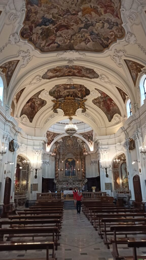 Interno Chiesa dell'Annunziata