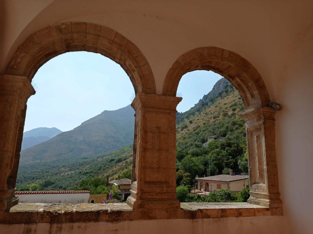 Panorama dal Castello Pandone