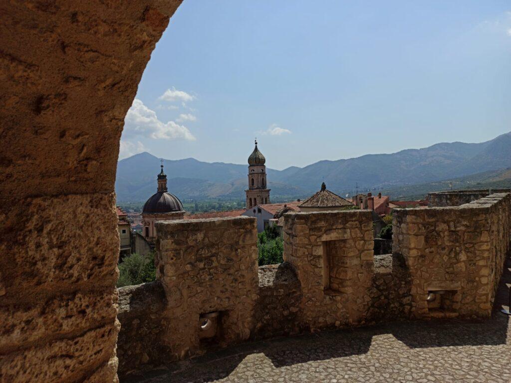 Vista panorama dal Castello Pandone