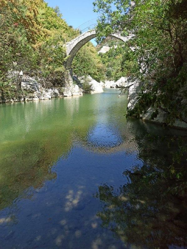 Il fiume Titerno sotto il ponte di Annibale