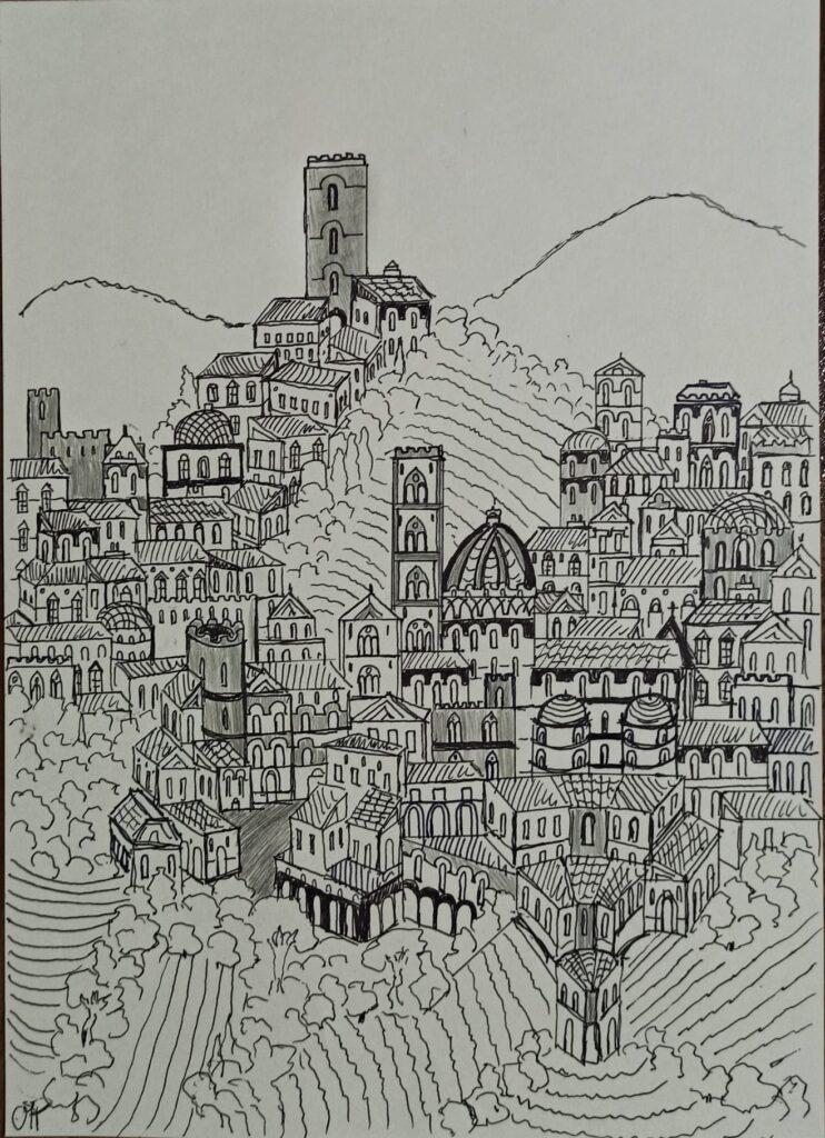 """""""È delle città come dei sogni: tutto l'immaginabile può essere sognato ma anche il sogno più inatteso è un rebus che nasconde un desiderio oppure il suo rovescio, una paura. Le città come i sogni sono costruite di desideri e di paure"""""""