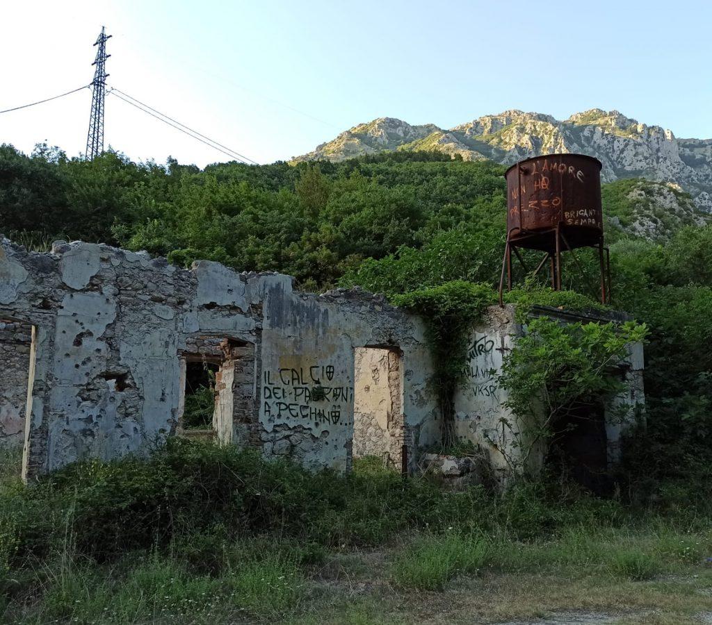 Archeologia industriale-Grotta del Cavuto